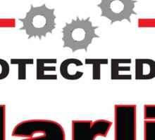 Marlin Protected by Marlin Shield Sticker