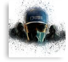 Watch dogs, Dedsec Canvas Print