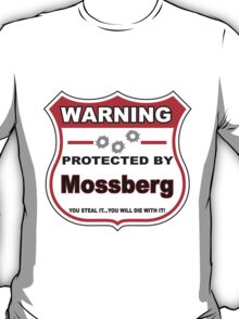 Mossberg Protected by Mossberg Shield T-Shirt