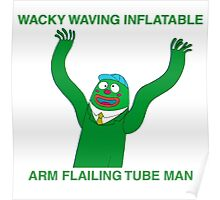 Wacky Waving Inflatable Arm Flailing Tube Man Poster