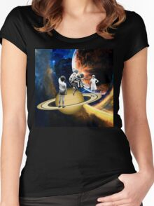 Jumpin Jive Women's Fitted Scoop T-Shirt
