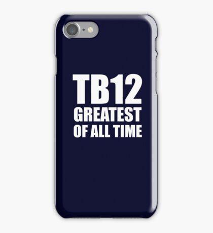 TB12 iPhone Case/Skin