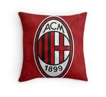 Logo AC Milan Throw Pillow