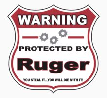 Ruger Protected by Ruger Shield T-Shirt
