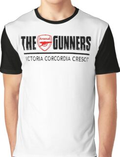 The Gunners - Arsenal - Victoria Corcordia Crescit Graphic T-Shirt