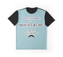 Moustache - Grows On People Graphic T-Shirt