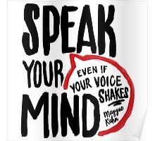 Speak Your Mind - Planned Parenthood Poster