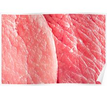 Fresh red meat Poster