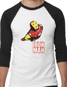 IRON MAN Men's Baseball ¾ T-Shirt