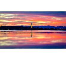 National Carillon Sunrise - Canberra Photographic Print
