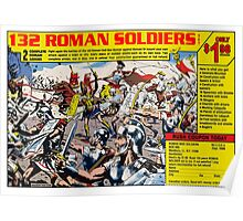 Roman Soldiers Comic Book Ad Poster