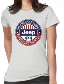 JEEP Womens Fitted T-Shirt