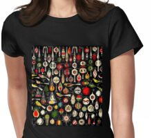 Christmas Antiquities  Womens Fitted T-Shirt