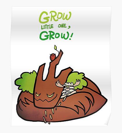 Smite - Grow (Chibi) Poster