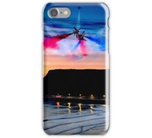 Red Dawn over Scarborough iPhone Case/Skin