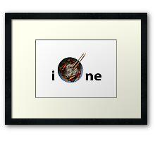 iPHOne (Pho Bo) Framed Print