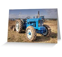 Roadless Tractor  Greeting Card