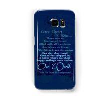 The OUAT Beginning Samsung Galaxy Case/Skin