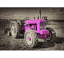 Roadless Tractor  Photographic Print