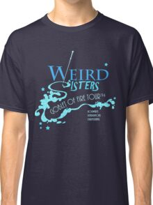 The Weird Sisters Goblet of Fire Tour '94 blue Classic T-Shirt