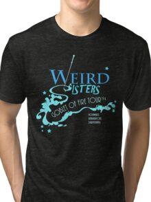 The Weird Sisters Goblet of Fire Tour '94 blue Tri-blend T-Shirt