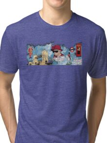 London Homage Splat! Tri-blend T-Shirt