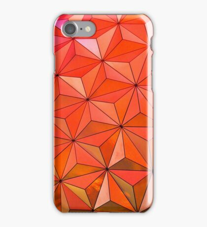 EPCOT Dome Texture iPhone Case/Skin