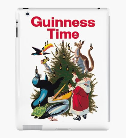 Guinness Time Christmas iPad Case/Skin