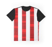 Red and white stripes Graphic T-Shirt