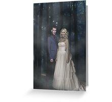 Klaroline ~ Klaus and Caroline Greeting Card