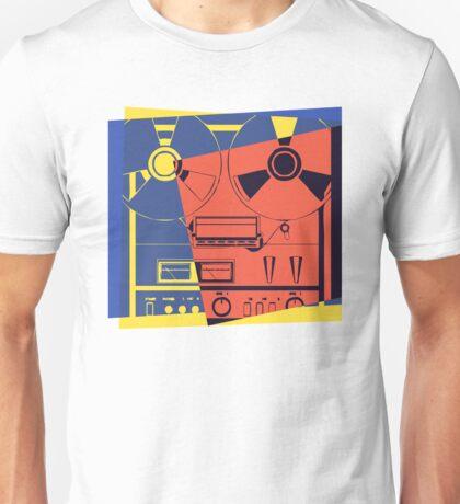 Reel To Reel Pop Art Unisex T-Shirt