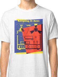 Pop Art Reel To Reel Classic T-Shirt