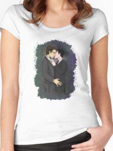 Nygmobblepot Women's Fitted Scoop T-Shirt