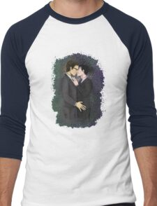 Nygmobblepot Men's Baseball ¾ T-Shirt