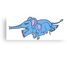 sleeping elephants Canvas Print