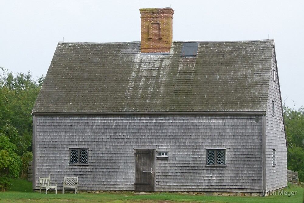 Nantucket's Oldest House by Trish Meyer