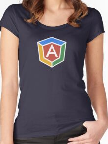 AngularJS (ng-conf) Women's Fitted Scoop T-Shirt