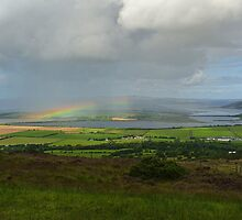 Rainbow over Inch Island by Kat Simmons