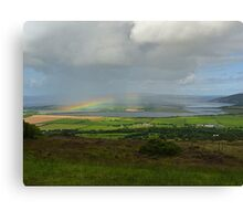 Rainbow over Inch Island Canvas Print