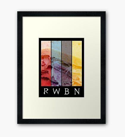 RWBN (RWBY Parody) Framed Print
