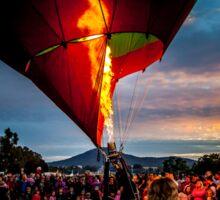 Balloon Spectacular Sunrise - Canberra Sticker