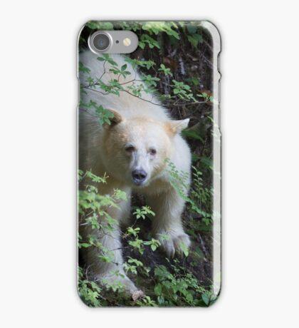 Spirit Bear, Great Bear Forest, BC iPhone Case/Skin
