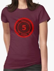 5 Posts Club Tumblr Womens Fitted T-Shirt