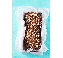 Fresh Chocolate Crispy Cookies Photographic Print