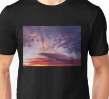 Beautiful colors sunset clouds Unisex T-Shirt