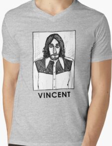 Vincent Gallo! Mens V-Neck T-Shirt
