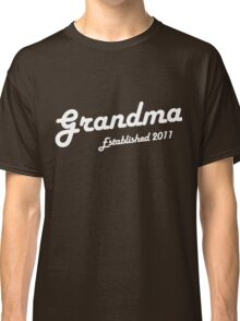 Grandma Established Est 2011 New Baby T-Shirt Classic T-Shirt