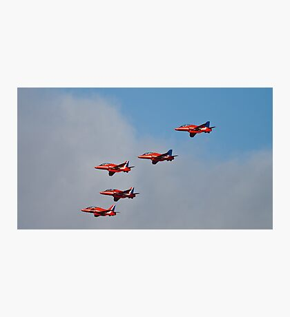 Red arrows 5 ship Photographic Print