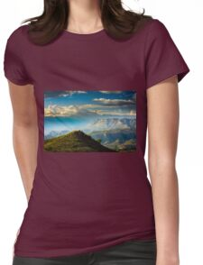 Sidelight on the ridge Womens Fitted T-Shirt