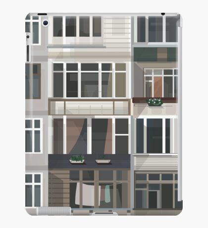 Post-Soviet urban aesthetic iPad Case/Skin